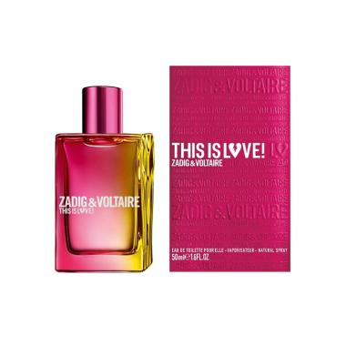 Zadig & Voltaire This Is Love! For Her (Задиг Энд Вольтер Зис Ис Лав! Фо Хе)